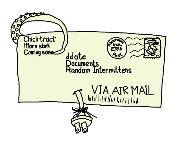Envelope addressed to: Your address Here